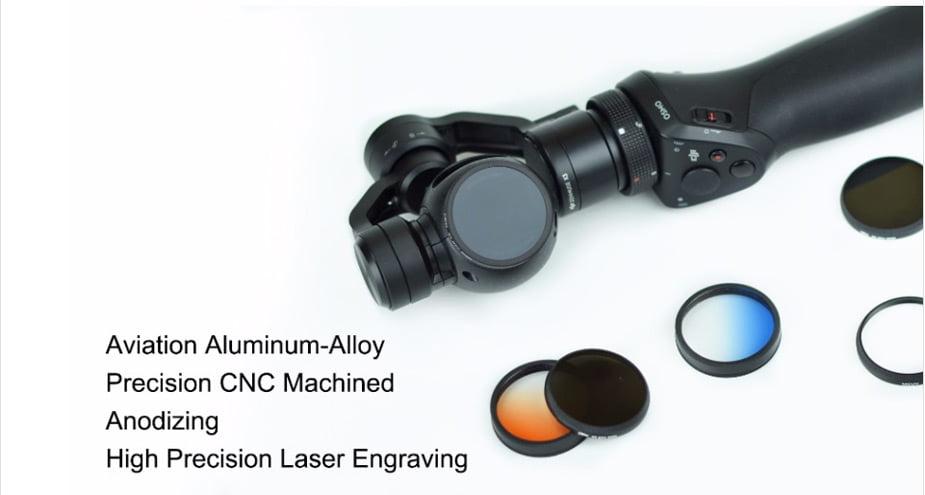 PGY DJI OSMO inspire1 X3 HD ND2-400 ND4 ND8 ND16 CPL MC-UV Lens Filter DJI X3 gimbal Lens Filter 04