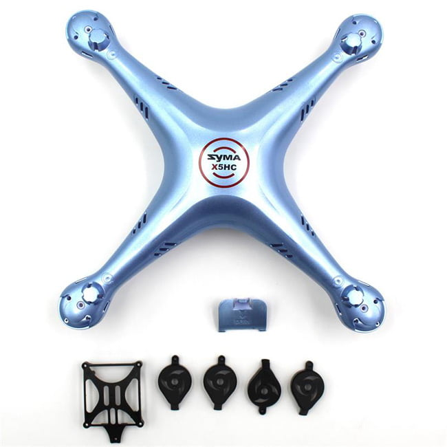SYMA X5HC X5HW RC Quadcopter Spare Parts Body Shell Cover - Blue