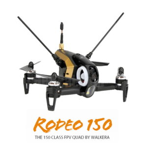 Walkera Rodeo F150 is a tiny FPV racing quadcopter