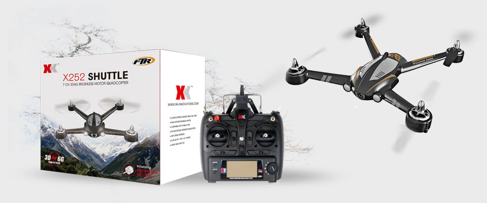 XK-X252-5.8G-FPV-Brushless-Motor-7CH-3D-6G-With-140-Degrees-Wide-Angle-HD-Camera-RC-Quadcopter-RTF