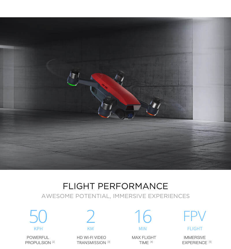DJI Spark Mini Drone - Small Safe and Smart 13
