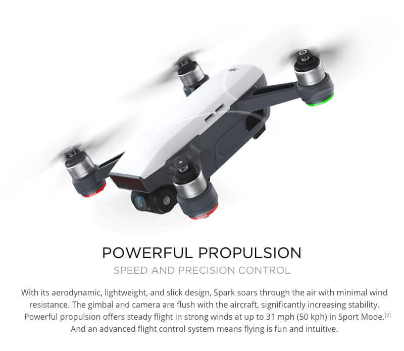 DJI Spark Mini Drone - Small Safe and Smart 14