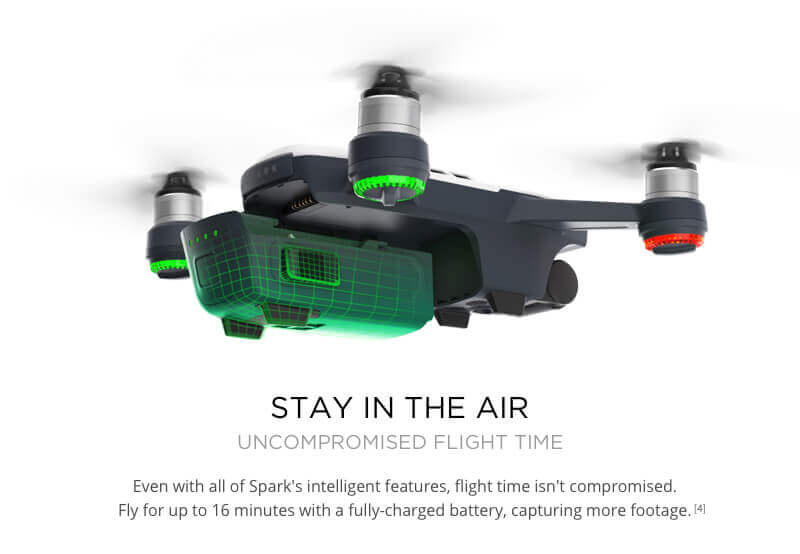 DJI Spark Mini Drone - Small Safe and Smart 16